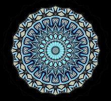 mandala - Bluetitude 07 by 1001cards