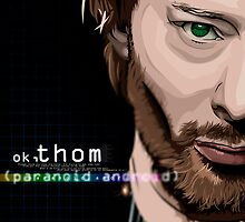 Thom Yorke, The Paranoid Android by jedMUND