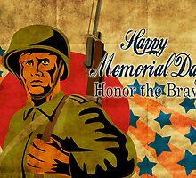 World War two American soldier bayonet rifle vintage by patrimonio