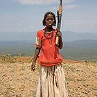 GIRL WITH AN AK47 by Nicholas Perry