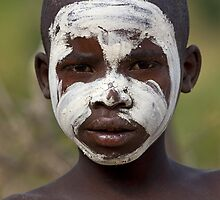 YOUNG BOY FROM THE BENA TRIBE by Nicholas Perry