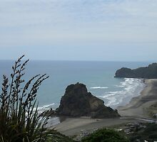 Lion Rock ~ Piha by chrissy mitchell