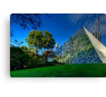 Sydney Botanic Gardens - Pyramid House Canvas Print