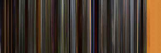 Moviebarcode: How to Train Your Dragon (2010) by moviebarcode