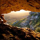 Sunset from a Cave by HaleyRenee