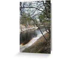 Lazy Suwannee River Greeting Card