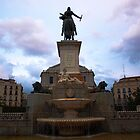 Plaza de Oriente by Fabio Procaccini
