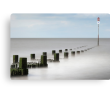 Groyne Number 11, Hunstanton, Norfolk Canvas Print