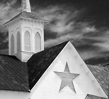 Star Barn Infrared detail by ©  Paul W. Faust