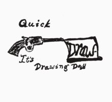 Drawing Day Logo tee by MaeBelle