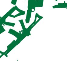 21 Guns Sticker