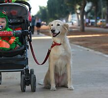 Proud baby sitter (Purim 8) by JudyBJ