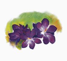 Alison Orr's 'Purple Crocuses' shirt by Art 4 ME