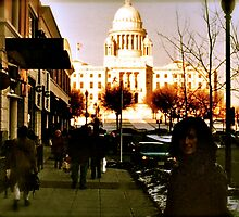 Going to the Mall - Providence - Downcity by Jack McCabe