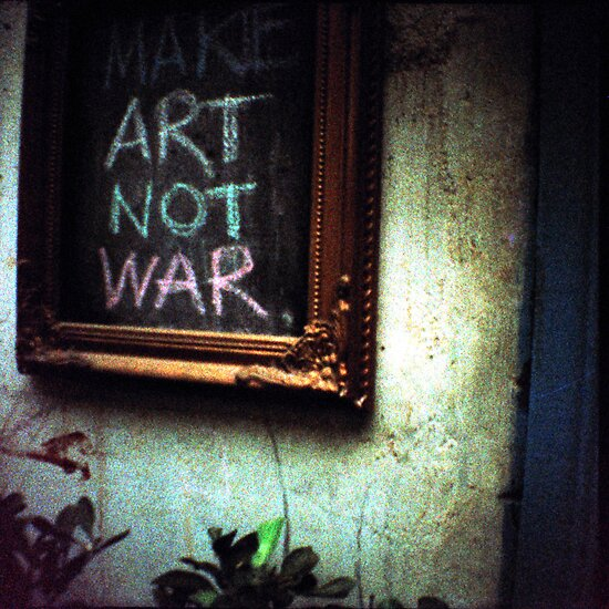 art not war, siem reap, cambodia by tiro