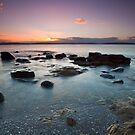Taroona Beach Sunrise #5 by Chris Cobern