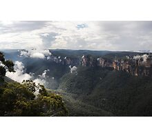 Grose Valley from Anvil Rock NSW Australia Photographic Print