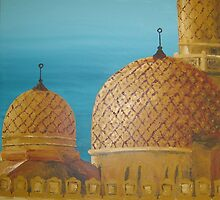 Jumeirah Mosque, Dubai by Stephanie Neville