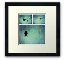 Project ~ People - Triptych Framed Print
