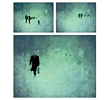 Project ~ People - Triptych Photographic Print