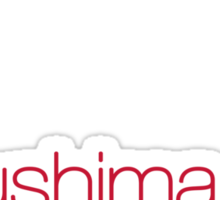FUKUSHIMA 50  Thank you! Sticker