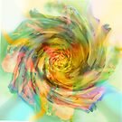 Surrealistic Rose, out in the Garden. by Grant Wilson