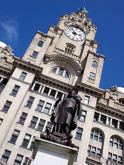 Sir Alfred Lewis Jones Monument Liverpool by Jem Wright
