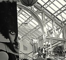 Philip Lynott at the shops by Esther  Moliné