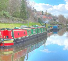 Llangollen Canal View by SimplyScene