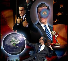 the all seeing Colbert by JD Longhurst
