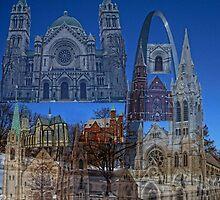 St. Louis Missouri Churches  by barnsis