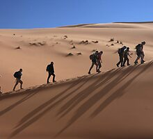 Desert Trekking by pjworldtour