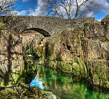 Birks Bridge,River Duddon by VoluntaryRanger