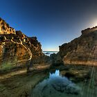 Sun Rayed Rock Pool by Matt Haysom