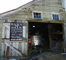 Anyone Want an Old Barn?  (view large to read sign) by MaryinMaine