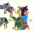 A Creator with Birds by Chris Hammond