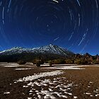 Teide star trail by Raico Rosenberg