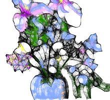 Happy Easter (flower vase) by Ellen Keagy
