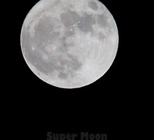 Super moon over Denmark Copenhagen by imagic