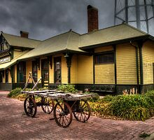 Hillsboro Depot - Chamber of Commerce and Visitor's Center by Terence Russell