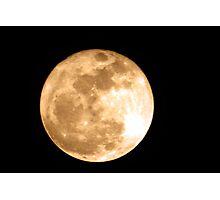 Super Moon 2011 Photographic Print