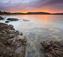 Primrose Beach Sunrise #3 by Chris Cobern