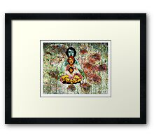 Facing The Magus in The Hall Of Mirrors Framed Print