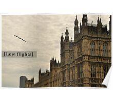 Low flights! Poster