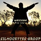 Welcome banner for the Silhouettes Group by Baina Masquelier