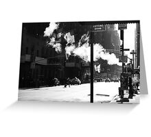 NEW YORK ANYTIME Greeting Card