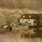 Bere Mill (River Test) by dmacwill