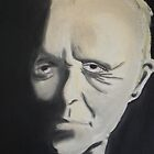 Anthony Hopkins by Brandon Walker