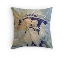 Twigs and Leaves  Throw Pillow