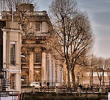 Trafalgar Inn and College, Greenwich by Karen Martin